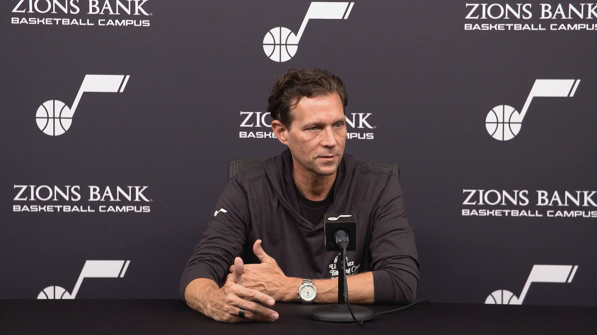 Practice 10.19—Coach Quin Snyder says 'normal' is an outdated term