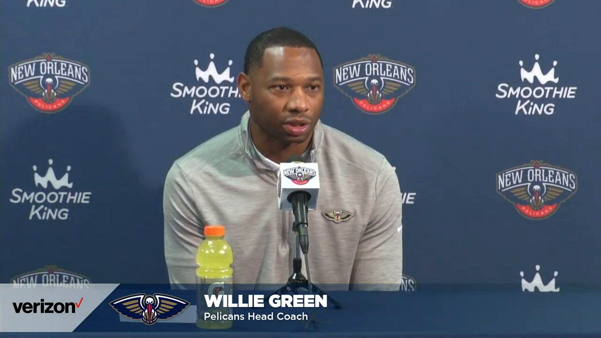 Willie Green Postgame Interview | Pelicans-76ers 10-20-2021