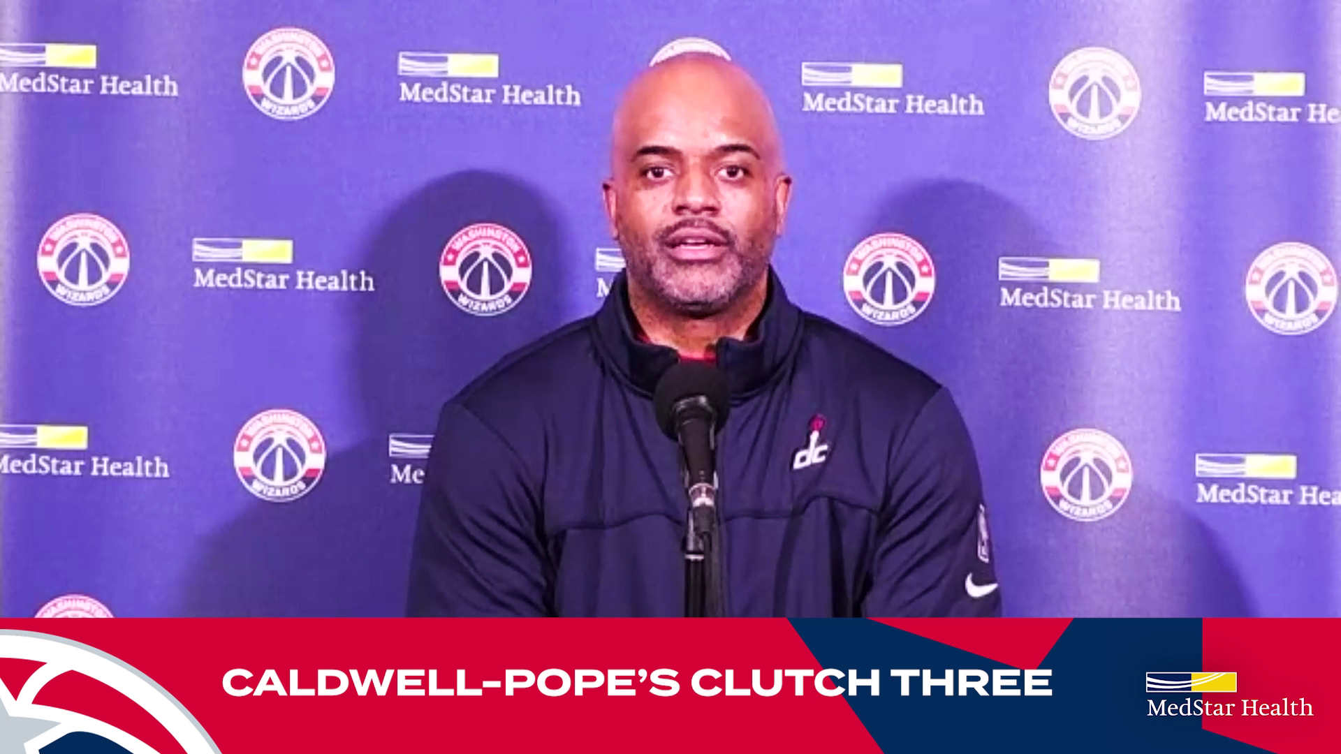 Wes Unseld Jr. Postgame Media Availability - 10/20/21