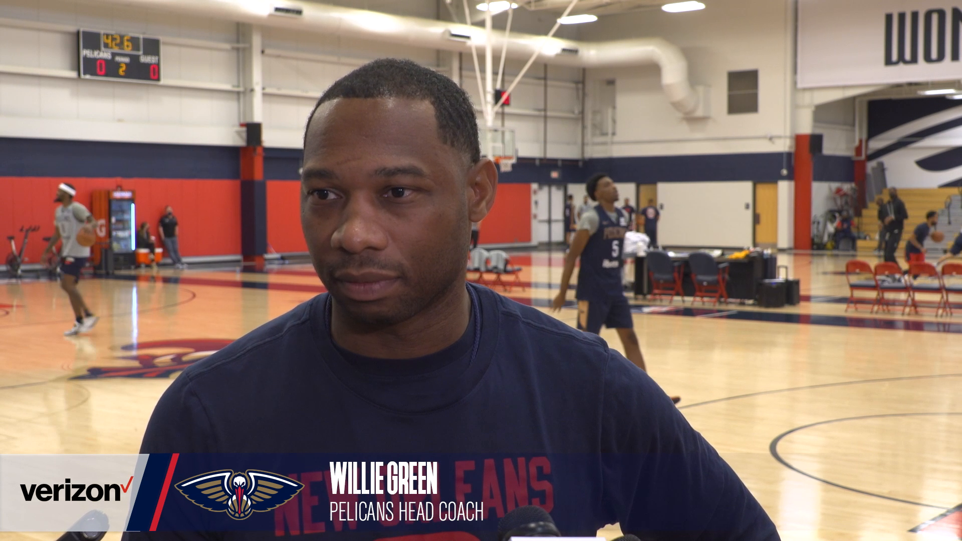 Willie Green on loss to 76ers | Pelicans Practice 10-21-21