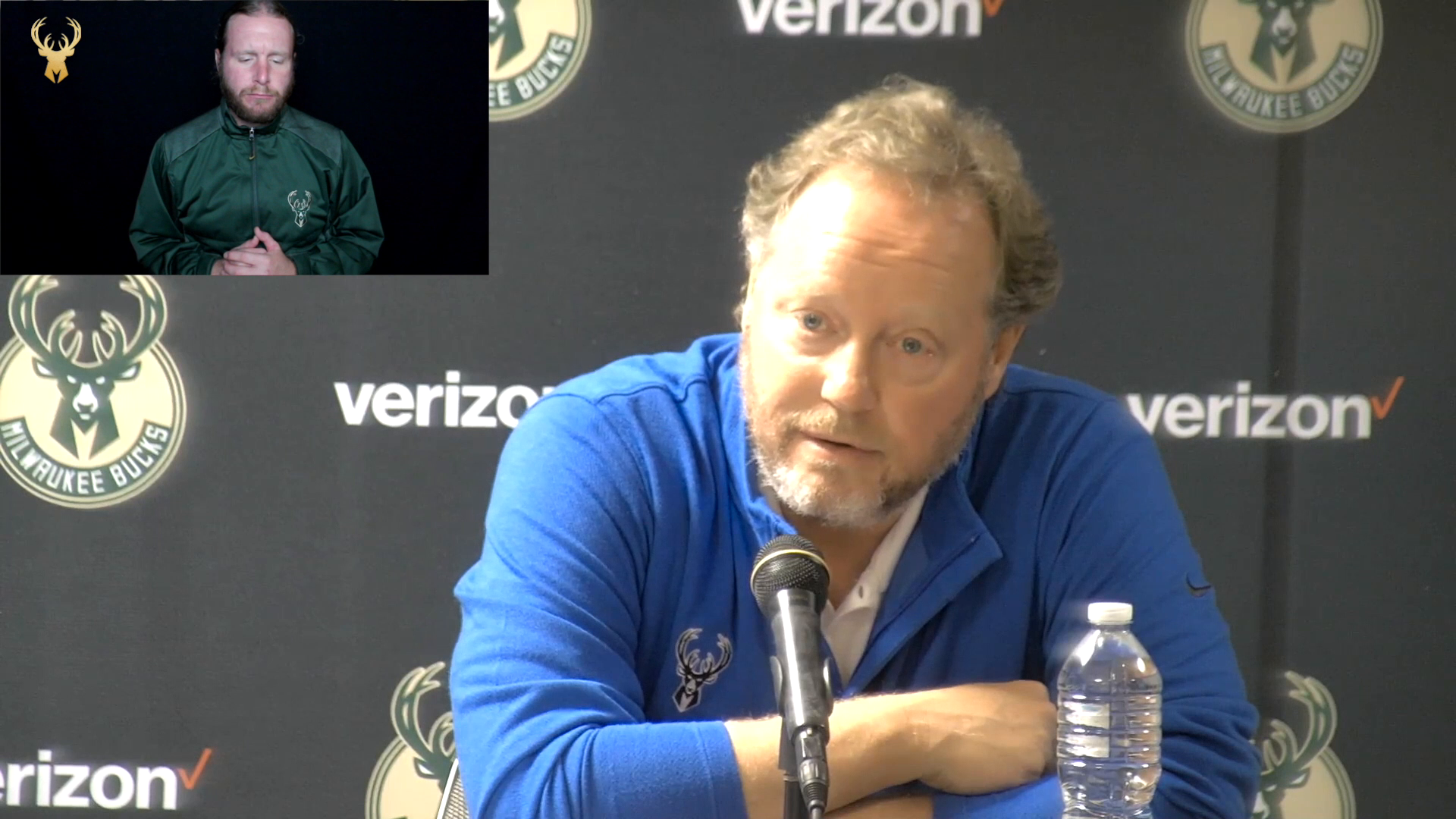 Coach Bud ASL Press Conference | 10.21.21