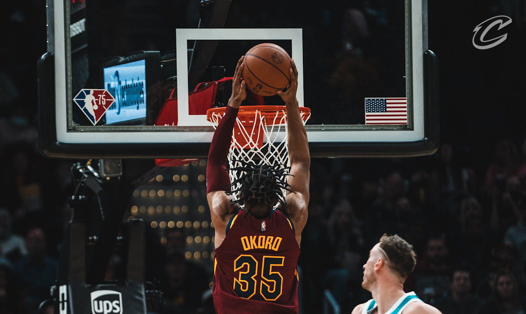 Okoro Rises Up and Throws it Down