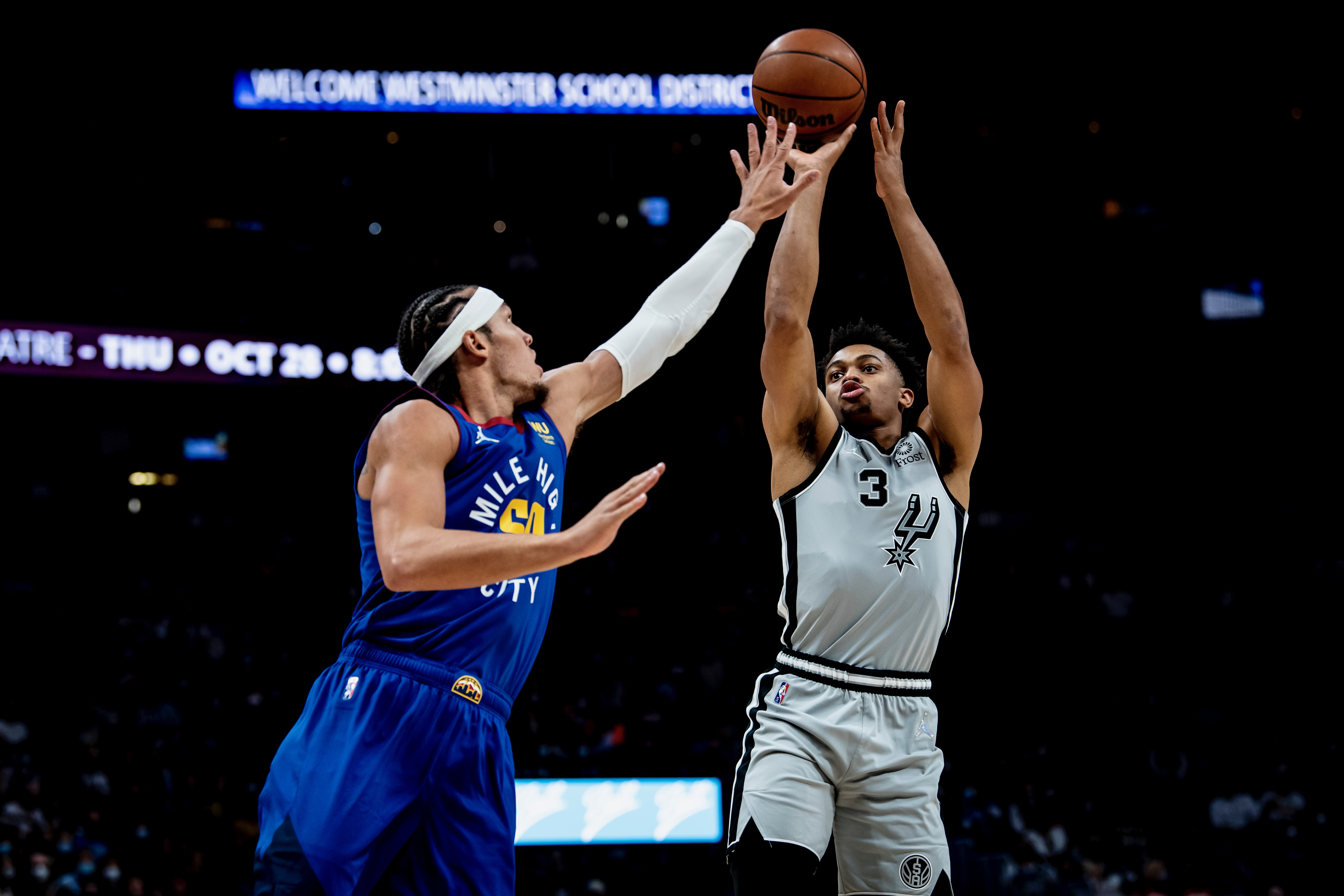 Highlights: Spurs at Nuggets 10/22
