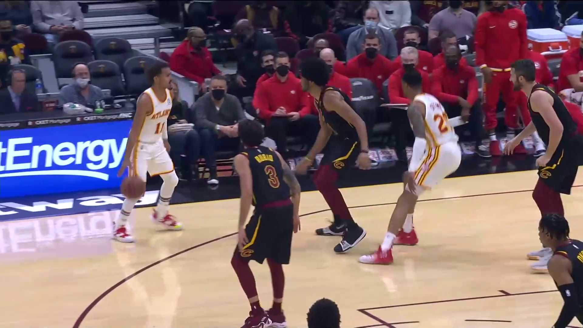 Young Tallies 24 Points, 7 Assists vs. Cavaliers