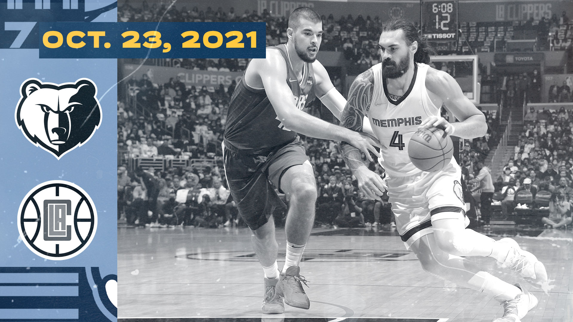 Grizzlies @ Clippers highlights 10.23.21