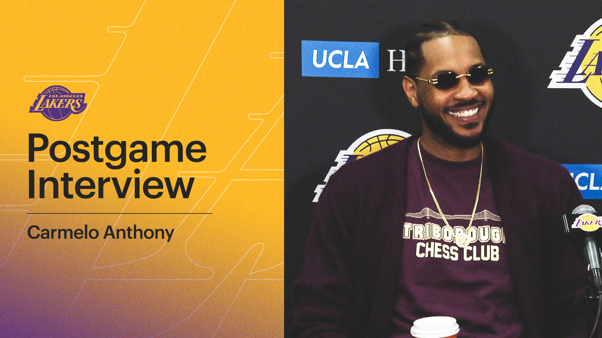 Lakers Postgame: Carmelo Anthony (10/24/21)
