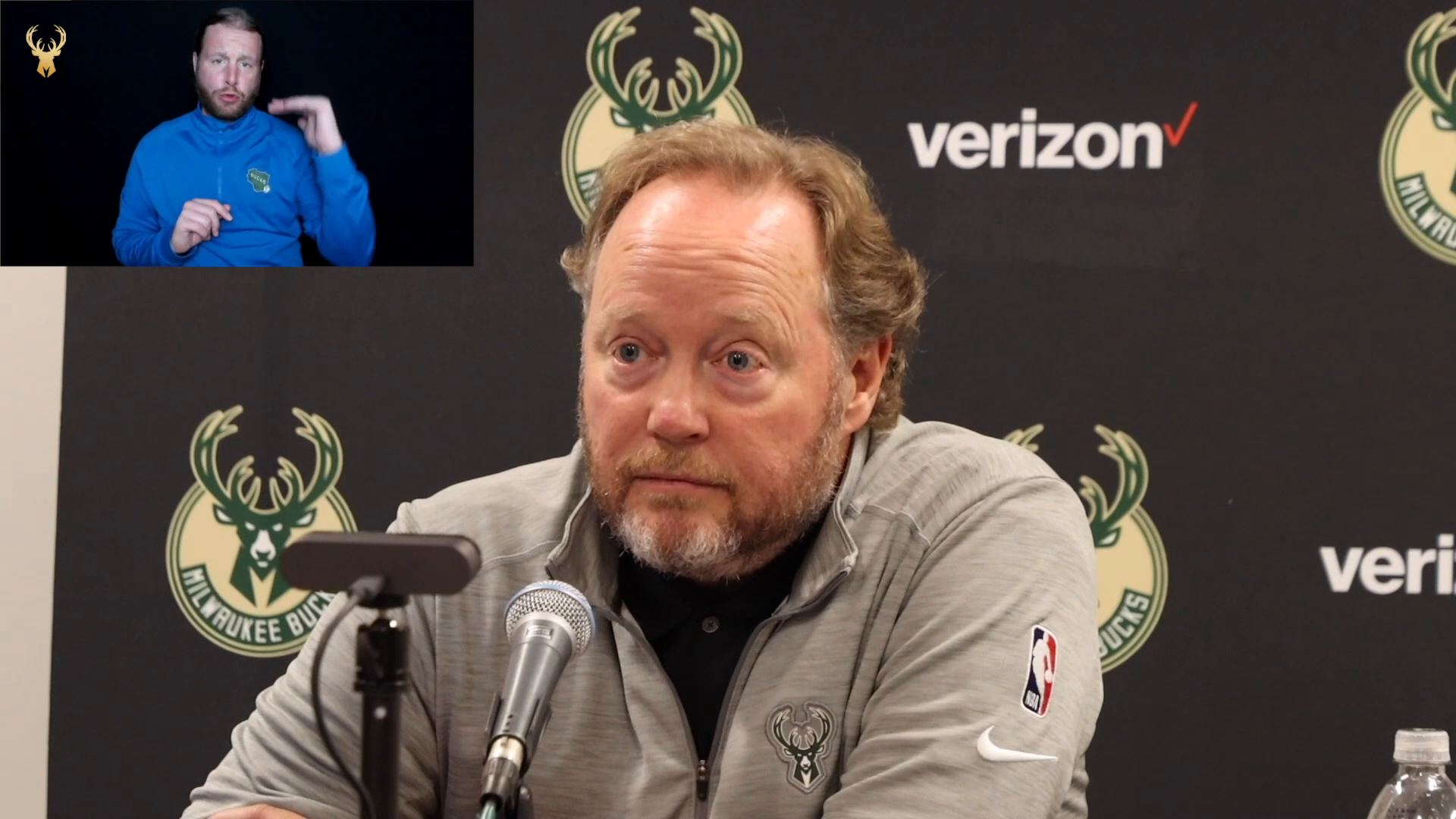 Coach Bud ASL Press Conference | 10.25.21