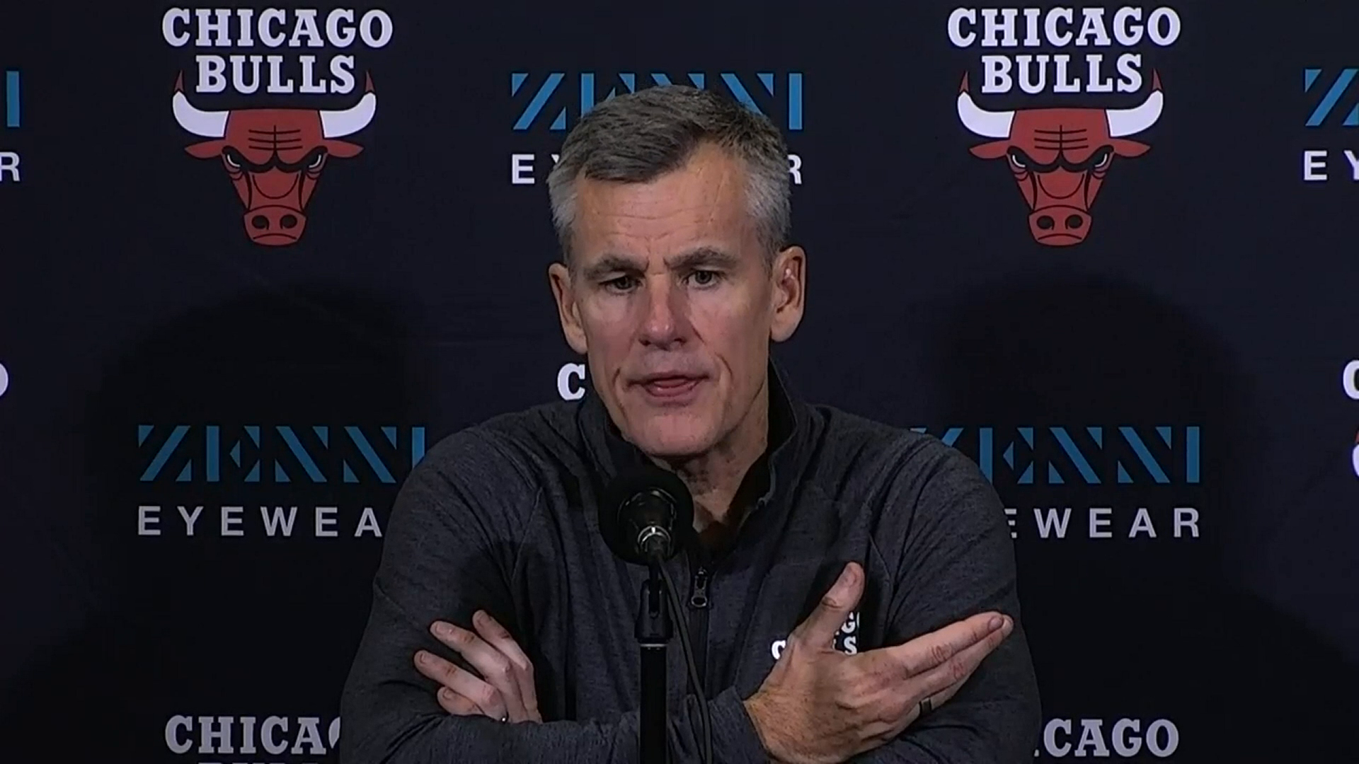 Post Game: Coach Donovan on Bulls moving to 4-0