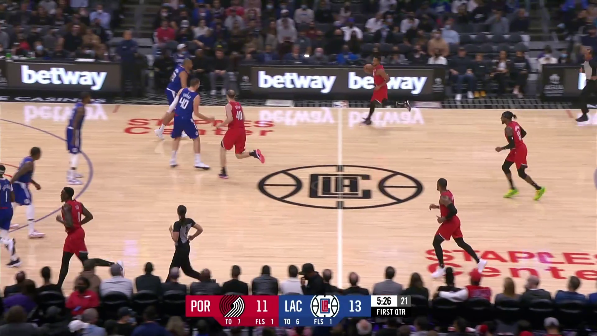 Trail Blazers 86, Clippers 116   Game Highlights   Oct 25, 2021