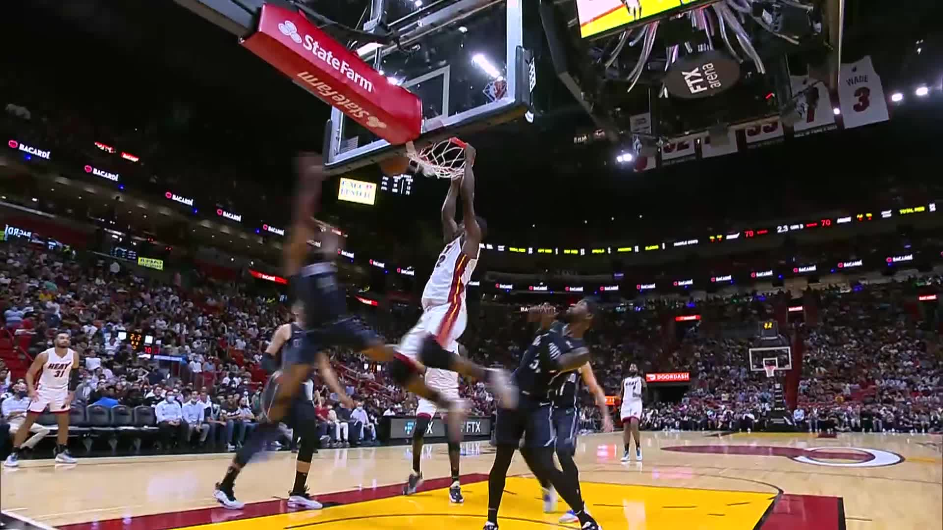 Jimmy Butler with 36pts, 5 stls, 3reb after the HEAT's win over the Magic