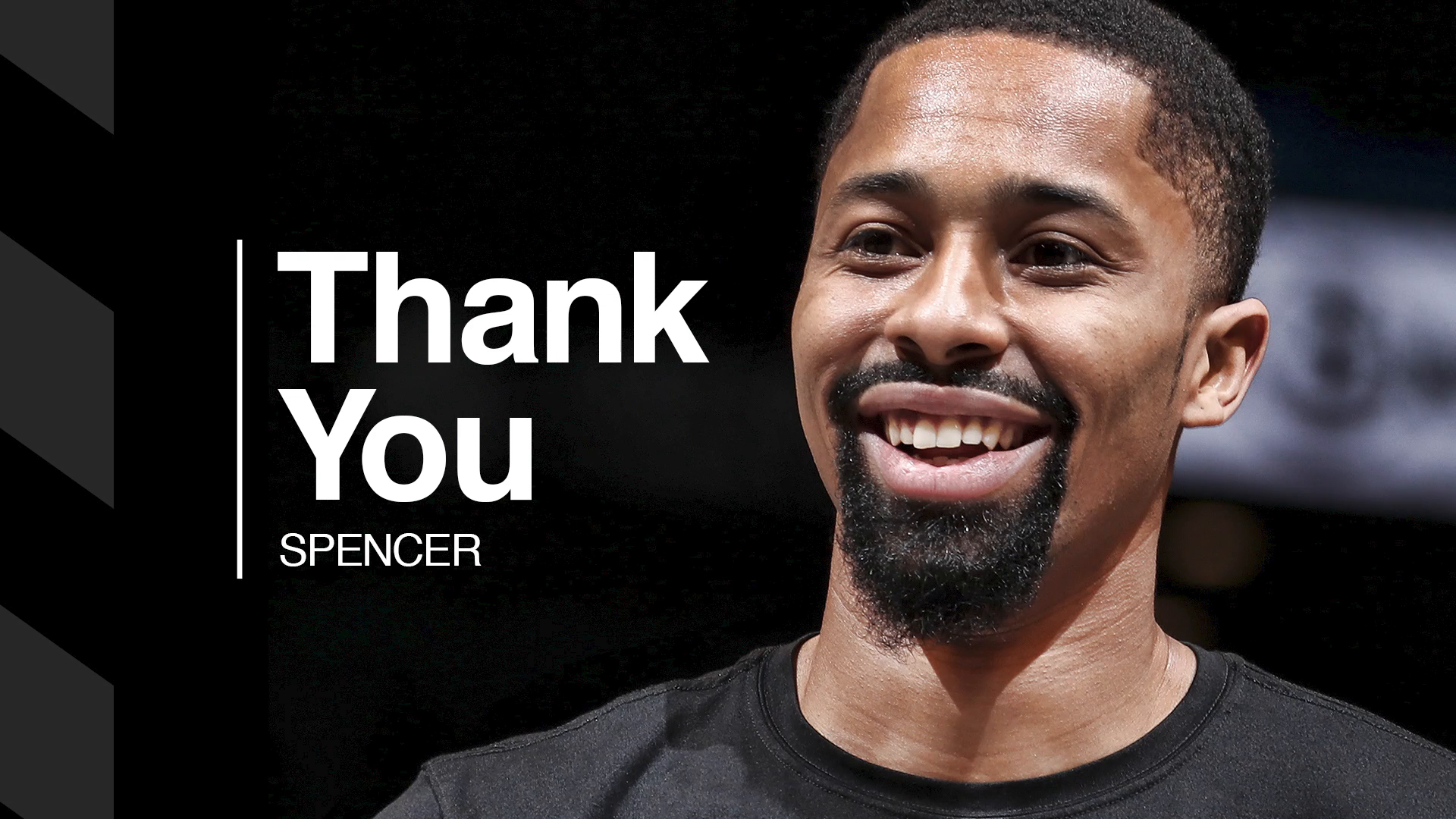 Thank You: Spencer Dinwiddie Tribute