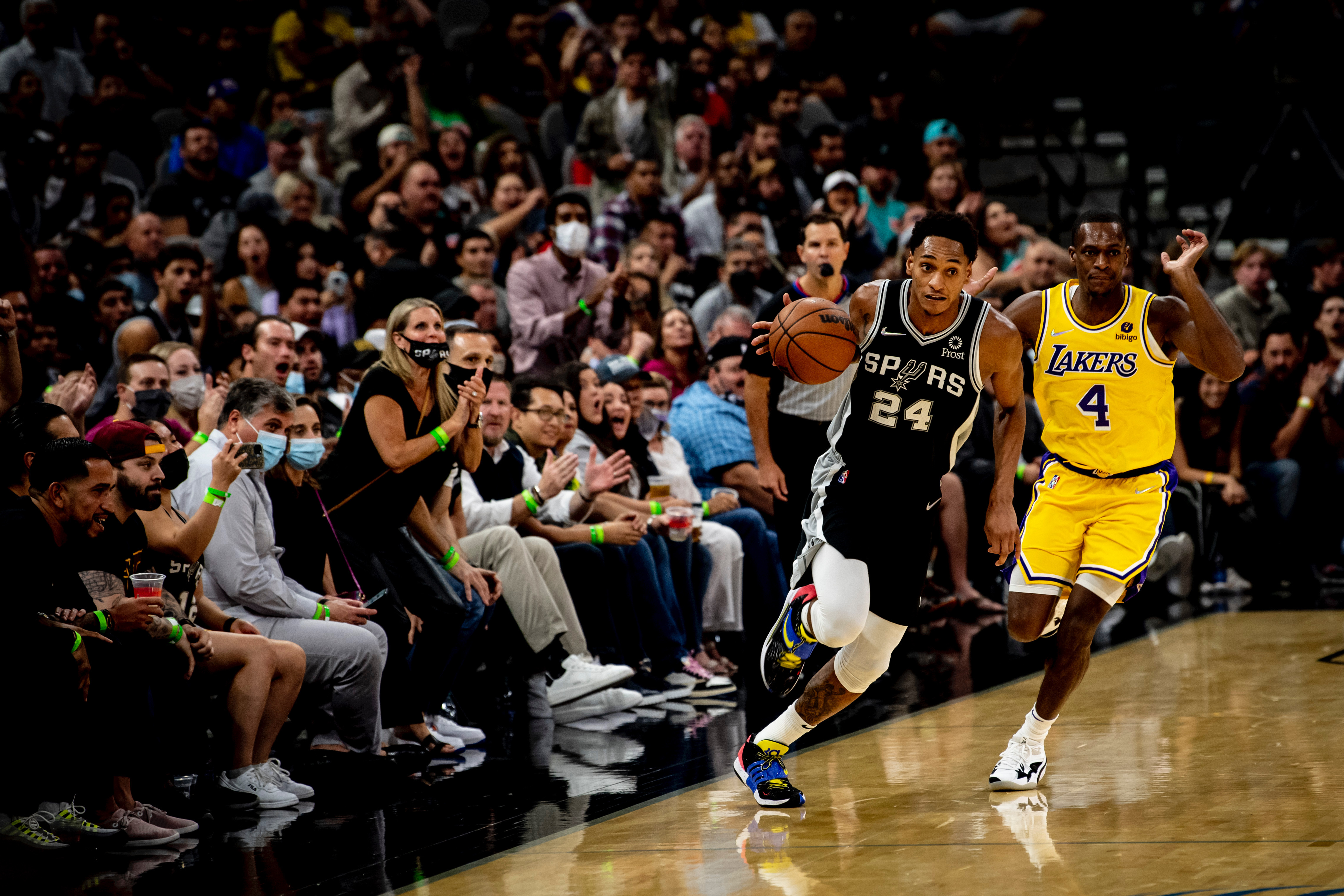 Highlights: Spurs vs. Lakers 10/26