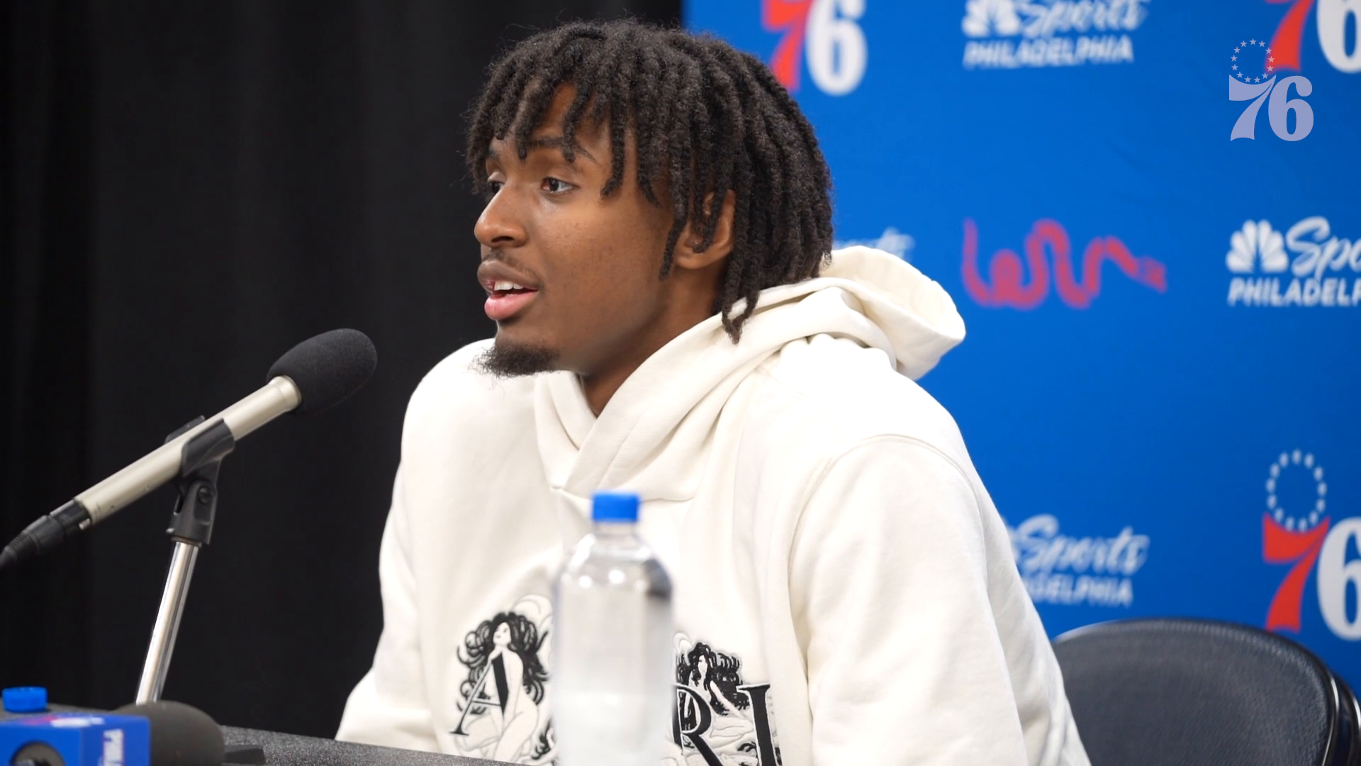 Tyrese Maxey | Postgame Interview @ New York Knicks (10.26.21)