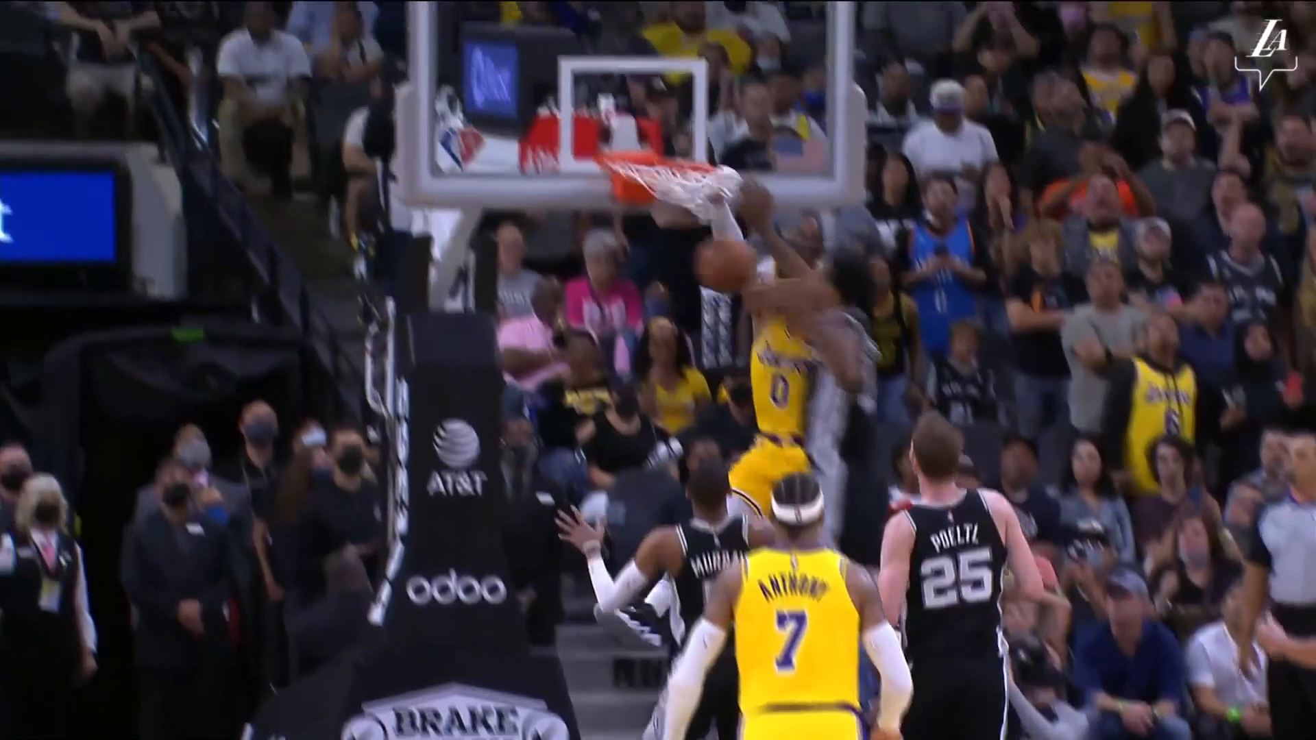 Lakers vs. Spurs Highlights (10/26/21)