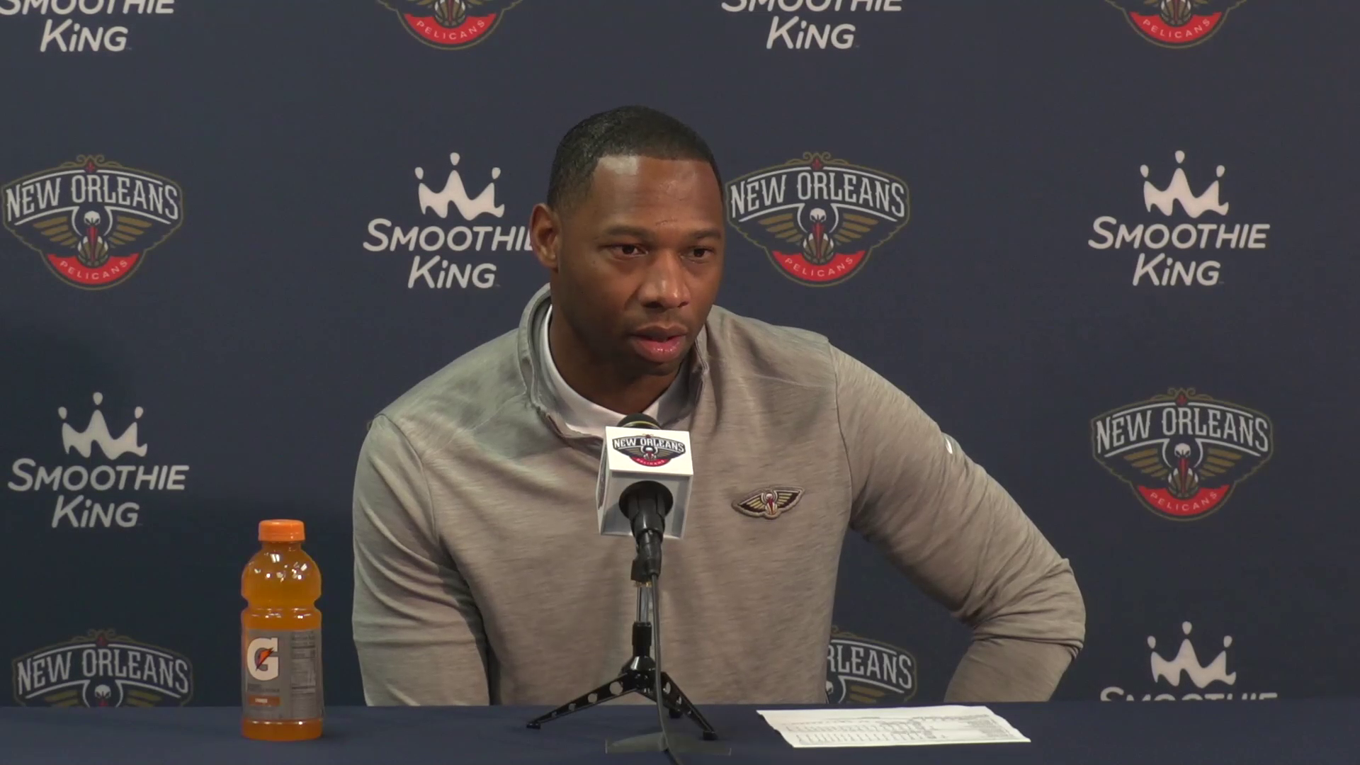 Willie Green on team's loss to Atlanta Hawks | Pelicans Postgame Interview 10/27/21