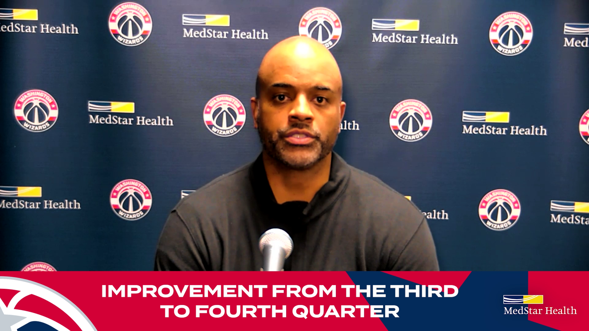 Wes Unseld Jr. Postgame Media Availability - 10/27/21
