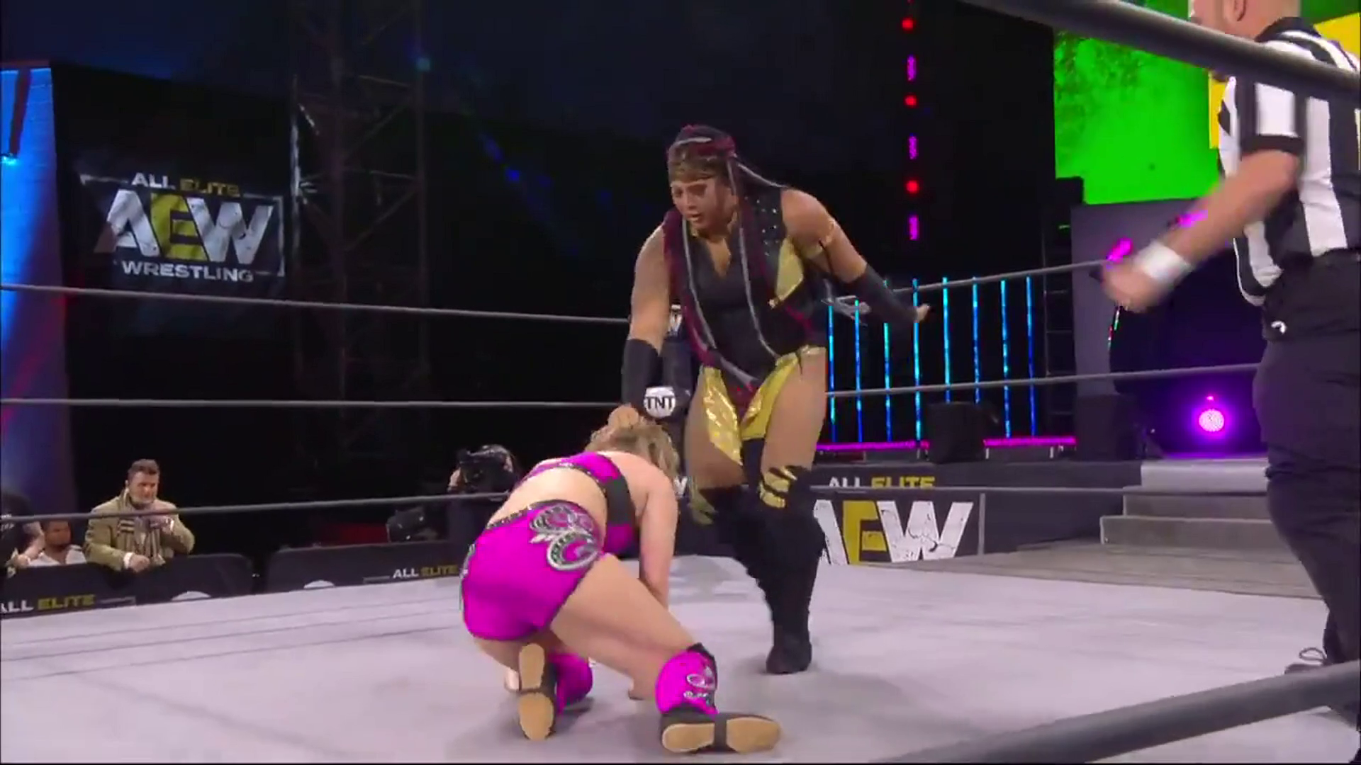 The AEW Women's World champion is back